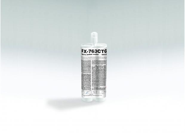 FX-763CTG Niedrigmoduliges standfestes Epoxidharz in Kartuschen